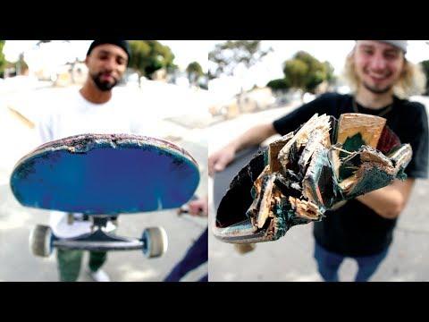 How To Destroy A Skateboard: The Santa Cruz Powerply Wear Test