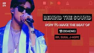 HOW TO MAKE THE INSTRUMENTAL OF 땡 DDAENG (RM, SUGA, J-HOPE)?