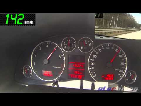 AUDI A6 4.2L V8 C5 40V 0-100 km/h / 100-200 km/h [299PS/400NM]