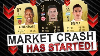 FIFA 19 BLACK FRIDAY MARKET CRASH HAS STARTED! | TRADING TO GLORY #28 | FIFA 19 ULTIMATE TEAM