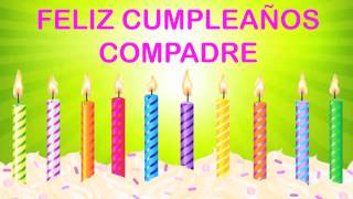 Compadre   Wishes & Mensajes - Happy Birthday