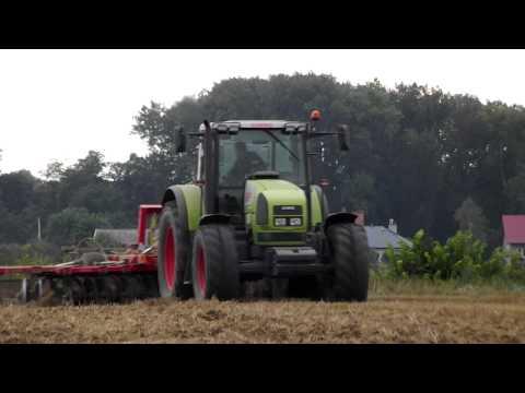 Talerzowanie 2012    Claas Ares 816 RZ Akpil Aniołek