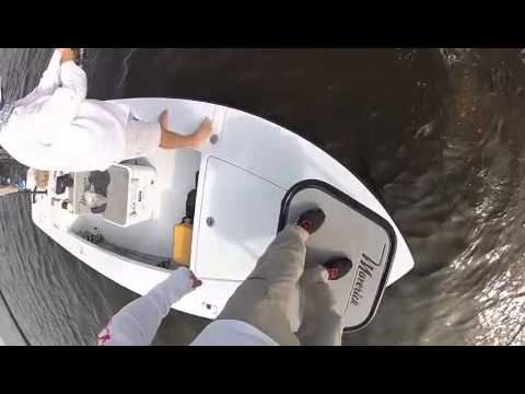 DOA Lures: Go Pro video Fishing Mosquito Lagoon with Capt. Willy Le