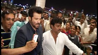 Anil Kapoor spotted at Mumbai Airport leaving for IIFA Awards 2015 press conference.