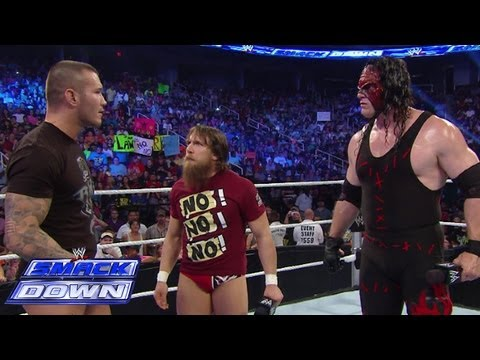 Daniel Bryan, Kane and Randy Orton continue to argue: SmackDown, June 14, 2013