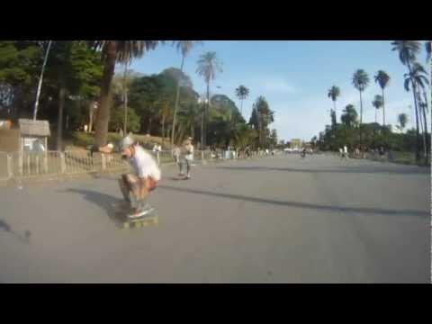Lucas Inke Freestyle Longboarding in São Paulo - Brasil