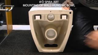 download lagu Ifö Spira Art - Mounting Of Wall-hung Wc Bowl gratis