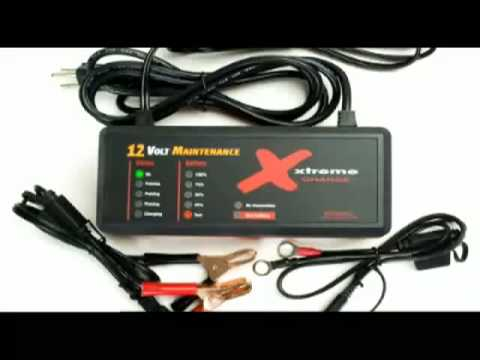 XC100-P Xtreme Charge 12V Battery Maintenance Charger Desulfator