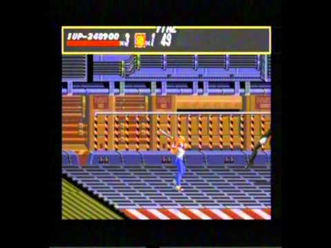 Streets Of Rage Sega Mega CD Gameplay 6 - Classic Retro Game Room