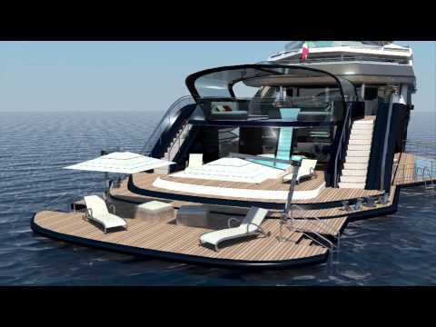 new diamond 70 yacht animation
