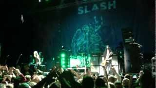 MICHAEL MONROE Joins SLASH On Stage In Helsinki