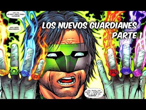 EL LINTERNA QUE OBTUVO TODOS LOS ANILLOS DE PODER Los Nuevos Guardianes Parte 1 @SoyComicsTj