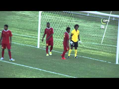 2013 OFC U 20 Championship Day 1 Papua New Guinea vs New Zealand Highlights
