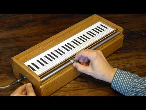 Demonstration of Tannerin ( Slide Theremin ) built by Tom Polk Music Videos