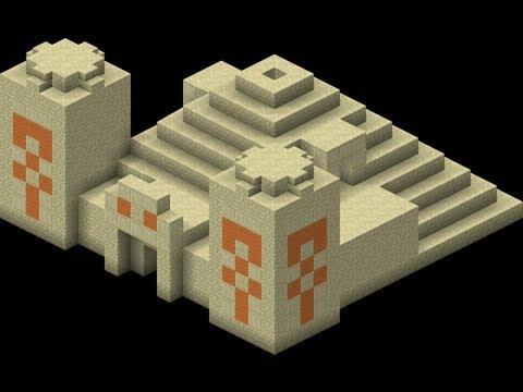 Minecraft Desert Temple