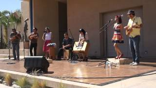 "Las Cafeteras ""Cafe Con Pan"" @ MOLAA Long Beach 7-15-12"