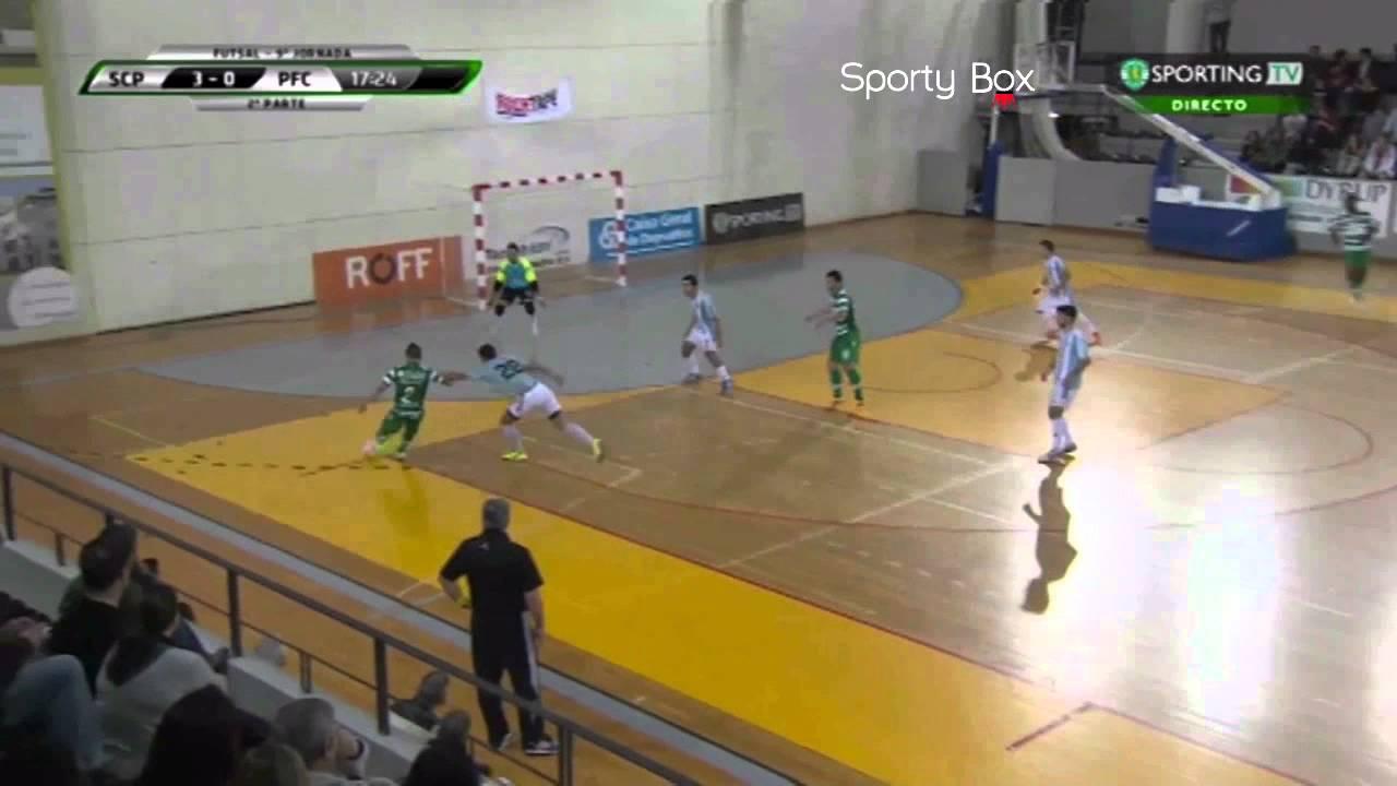 Futsal :: 09J :: Sporting - 10 x Póvoa Futsal - 0 de 2014/2015