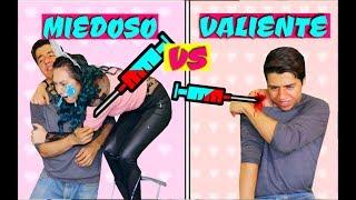 VALIENTE VS MIEDOSO | Palomitas Flow !!!