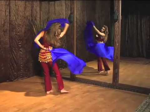 Sadie - Belly Dance with Veil - Technique and Combinations -...