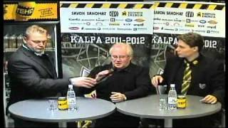 KalPa-TPS ottelun lehdistötilaisuus 15.10.2011