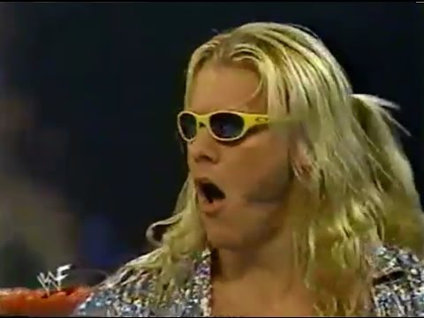 Jericho & Chyna dance with Rikishi & Too Cool - WWF RAW is WAR 2/28/2000