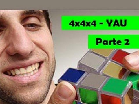 Como resolver o cubo 4x4x4: Método Yau - Parte 2