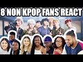 8 NON KPOP FANS REACT To BTS 방탄소년단 MIC Drop Steve Aoki Remix MV PART 1 Reaction mp3