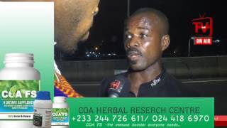 LIVE FROM NKRUMAH CIRCLE INTERCHANGE ACCIDENT SCENE