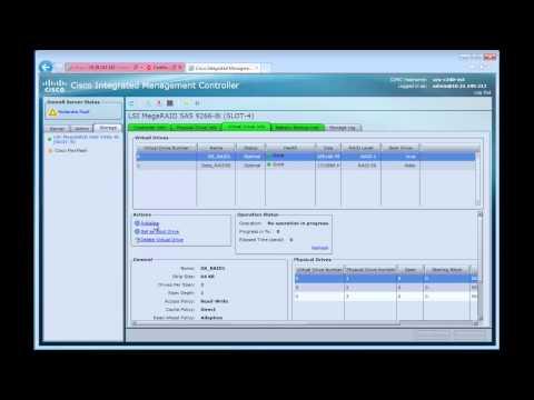 CIMC 1.5 RAID Setup Preview