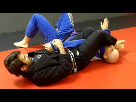 Jiu Jitsu Techniques - Armbar from butterfly guard Image 1
