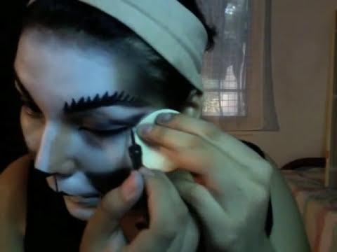 maquillaje para halloweeen/gato