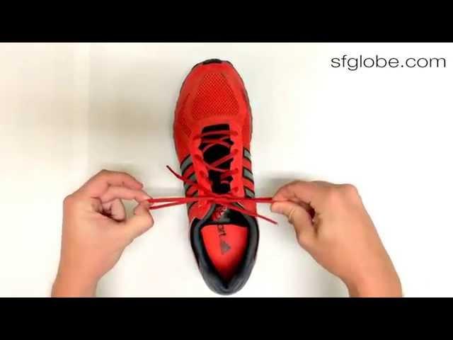 3秒綁鞋帶方法