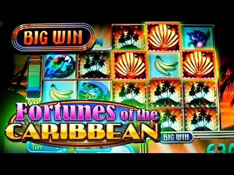 Fortunes of the Caribbean - Live Bonus -  5c WMS Slots