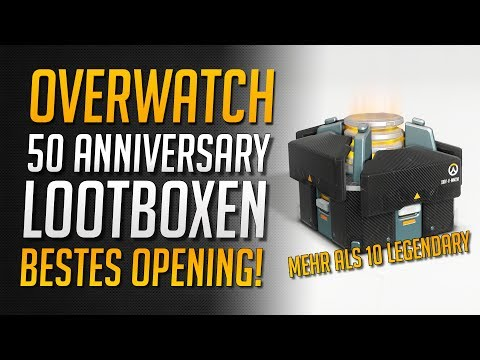 BESTES OPENING EVER! Mehr als 10 Legendary | Overwatch 50x Lootbox Unboxing ★ Overwatch Deutsch