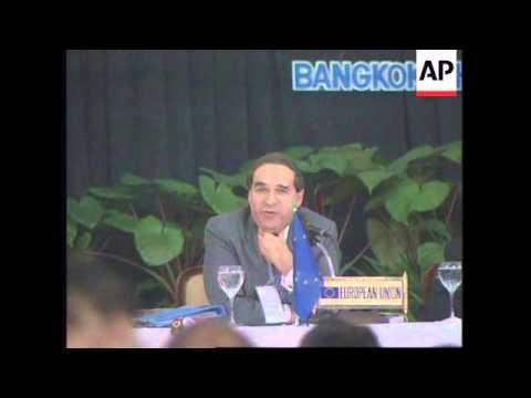 THAILAND: BANGKOK: ASEAN ECONOMIC MINISTERS MEETING