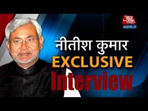 Exclusive interview with Nitish Kumar on row with Manjhi