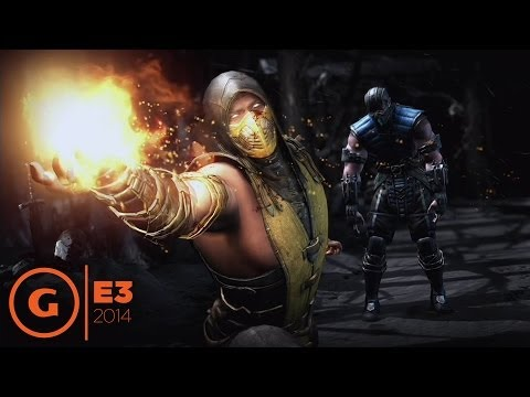 Mortal Kombat X - E3 2014 Gameplay Trailer at Sony Press Conference