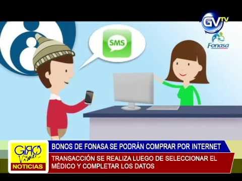 BONOS DE FONASA SE PODRÁN COMPRAR POR INTERNET, 08 DE MAYO 2015