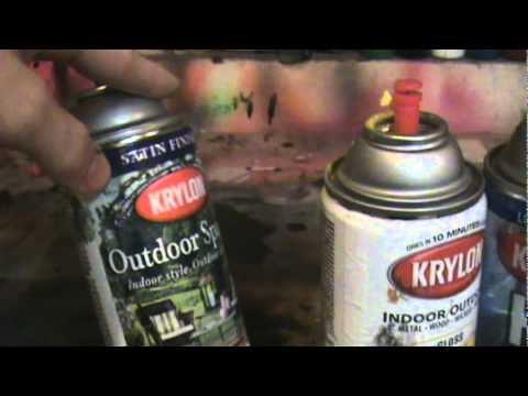 krylon spray paint review as a whole best types youtube. Black Bedroom Furniture Sets. Home Design Ideas