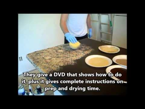 Giani Granite Countertop Paint Review   Giani Countertop Before & After Video