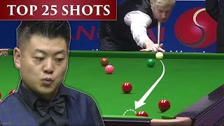 TOP 25 SUPER SHOTS + INSANE LUCK Of Shanghai Masters 2019 | The Big Video