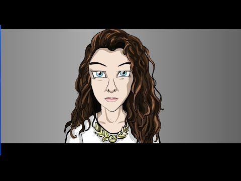 LORDE- ROYALS (CARTOON PARODY)