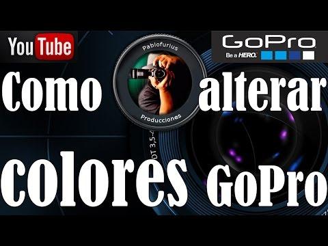 Como Editar y mejorar colores en GoPro Studio - Español   @Pablofurius
