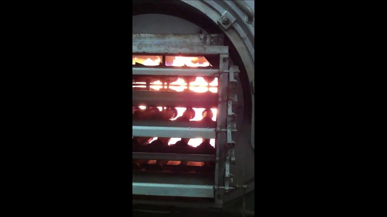 Old Kewanee boiler - YouTube