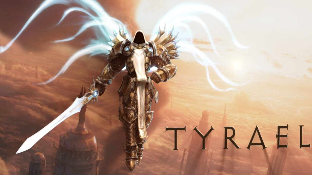 Diablo 3 Wallpaper Tyrael 1920x1080