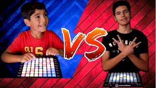 LAUNCHPAD BATTLE - Little Brother VS Pro