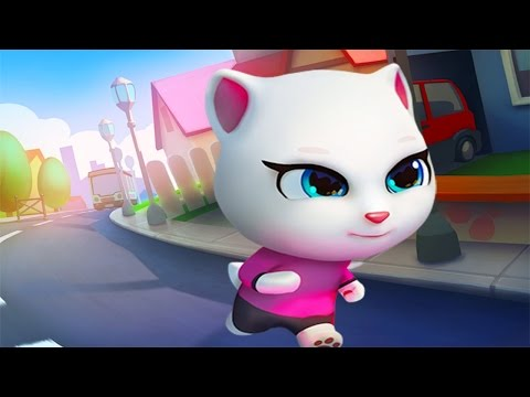 Talking Tom Gold Run Android Gameplay #5