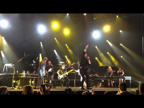 Matchbox Twenty and INXS perform Good Times - Sydney Ent Centre 30/10/2012