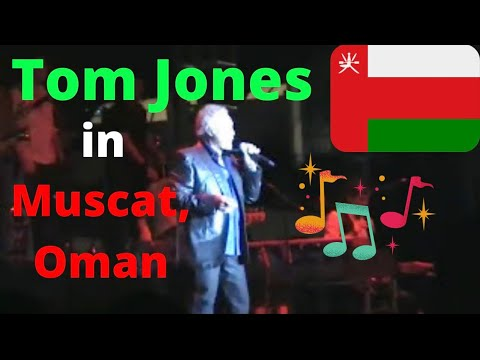 Sir Tom Jones Live in Muscat, Oman! (&quot;In Style &amp; Rhythm&quot; from the Album &quot;24 Hours&quot;)