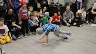 Winter Homies Battle 2017 - Win. - b-boy BOOMER (SkyMoveSCHOOL)